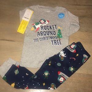 NWT Carter's Boys Christmas pajamas size 3t